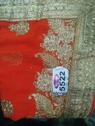 Embroidered Designer Sarees
