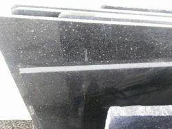 Galaxy Black Granite Stone, Thickness: 15-20 mm
