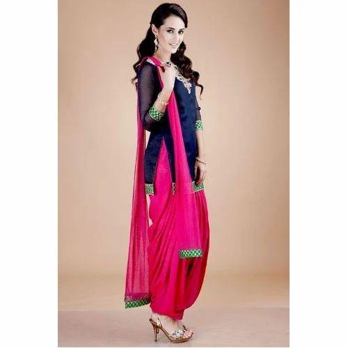 Designer Punjabi Suit At Rs 2500 Piece Punjabi Ladies Suit Punjabi Phulkari Suit Punjabi Salwar Suit प ज ब स ट Surya Fashion Surat Id 11168347355