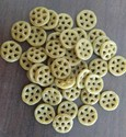 Garlic Wheels, 30 Kgs Plastic Bags