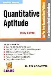 Quantitative Aptitude for Competitive Examinations Books