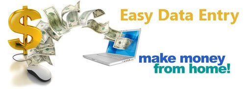 Data entry projects at home