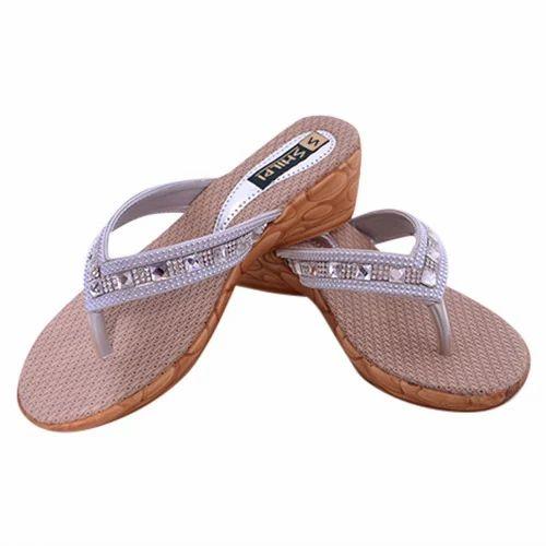 502e1ebe6 Synthetic Foam Casual Fancy Ladies Sandal, Size: 6 X 10, Rs 215 ...