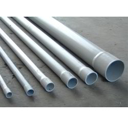 Hard Tube Grey Rigid Pvc Pipe Round Length Of One Pipe 6m