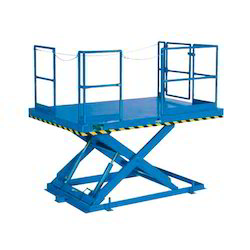 Pit Mounted Mild Steel Scissor Lift Table