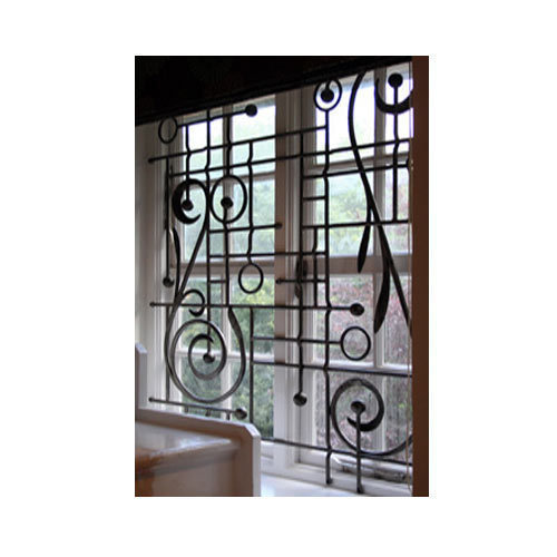 Wrought Iron Grill For Window 1