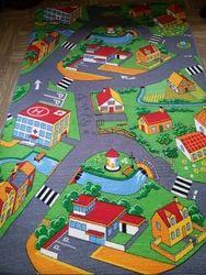 Multicolor Belgium Kids Rug