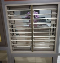 Aluminum Dumal Window With Grill