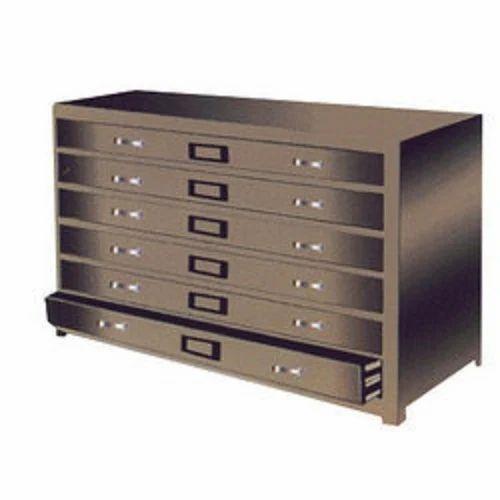 Rectangular 6 Drawers Plan Filing Cabinet