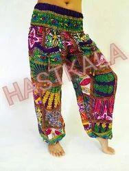 Harem Printed Pant