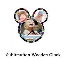 Sublimation Wooden Wall Clock