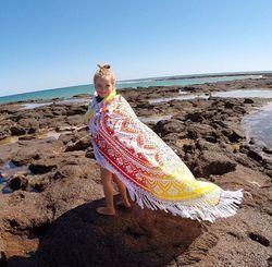 Mandala Roundie Tapestry
