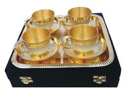 Diwali Gifts- Brass Tea Set