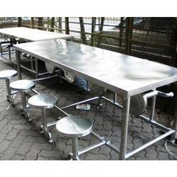 Steel Dining Table In Pune Steel Ki Khana Khane Wali Mej