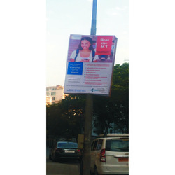 3 Day After Advance Payment Flex Outdoor Street Pole Advertising Services, in Mumbai