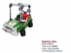 Green 9811 Battery Car