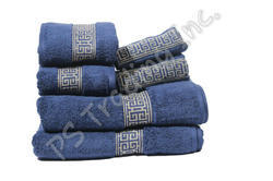 Zero Twist Jacquard Border Towel Set