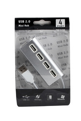 Speed USB 2.0 4 Port HUB Apple Style - 480 MBPS