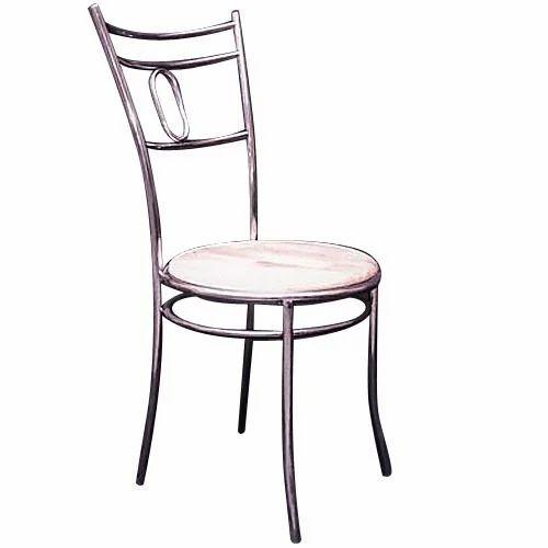 Wood Stainless Steel Restaurant Chair