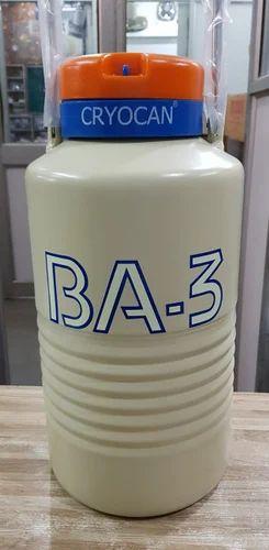 Ba-3 Liquid Nitrogen Container Cryocan