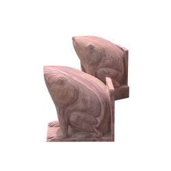 Frog Statue Stone Animal Statue