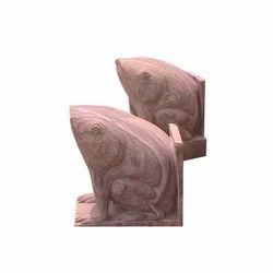 Frog Statue Stone Animal Statue