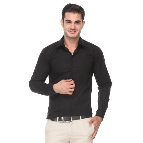 8419f9c82 Mens Black Formal Shirt at Rs 400  piece(s)
