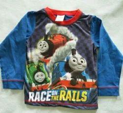 Children Printed T Shirts