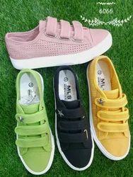Ladies Velcro Shoes, Size: 36-40