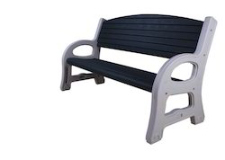 Outdoor Plastic Garden Bench