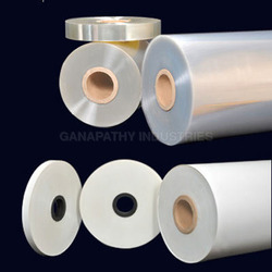 Pet And Bopp White, Transparent Polyester Film, Packaging Type