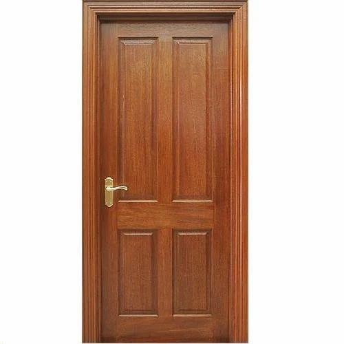 Solid Wooden Door  sc 1 st  IndiaMART & Solid Wooden Door Solid Timber Door - Kovai Timbers Chennai | ID ...