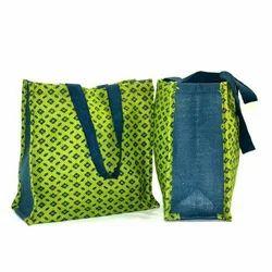 Printed Shopping Jute Bag