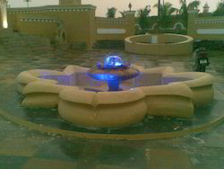 Lotus Mist Fountain, For Outdoor, 3 Inch