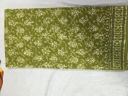 Pure Cotton Saree with Handblock Print (with BP)