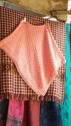 V K ANU TEX 10 Baby Soft Yarn Poncho