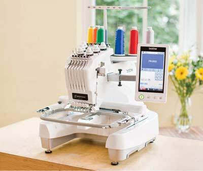 pr 650c professional embroidery machine sonigra machinery india rh indiamart com manual bordadora brother pr 650