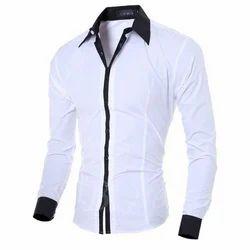 Mens White Shirt, Mens Shirts - O.P Trader & Packers, Hisar   ID ...