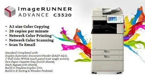 Canon Ir C3020 Color Copier, Irc3020 ,Memory Size: 2gb | ID