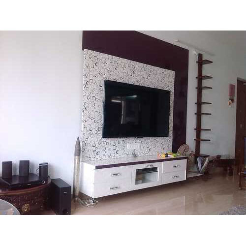 Wooden Tv Stand Unit At Rs 1000 Square Feet Wooden Tv Cabinet