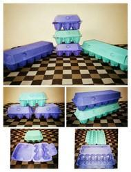 Rectangular Pulp Paper Egg Storage Box