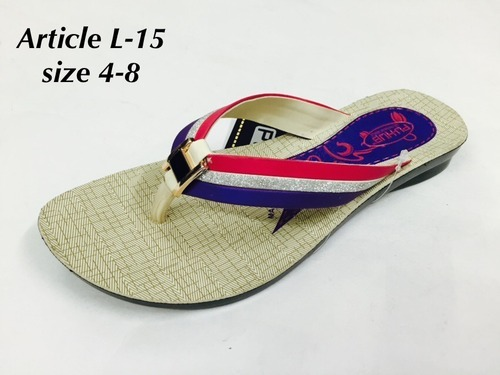 0d4880dc30a Fancy PU Ladies Slippers at Rs 88  pair(s)