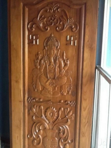 Teak Wood Hand Work Design Door Authorized Wholesale