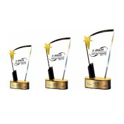 Rich Gold  Acrylic Trophies
