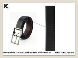 Reversible Italian Leather Belt
