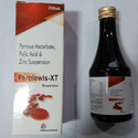 Ferrous Ascorbate Folic Acid and Zinc Suspension Syrup