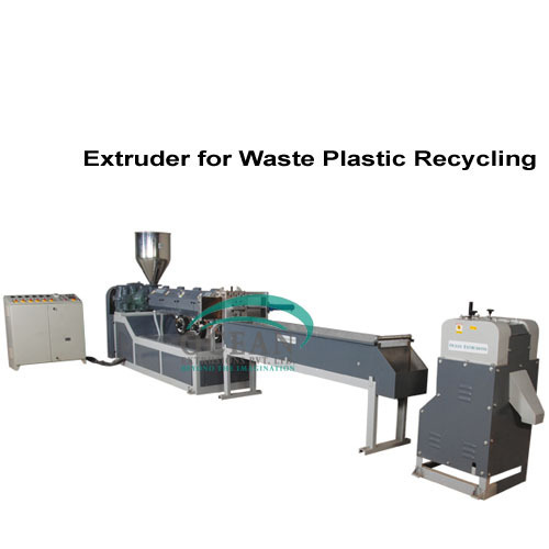 Ocean Extrusions Pvt Ltd Waste Plastic Recycling Extruder