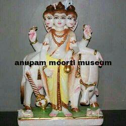Dattatreya  marble statues