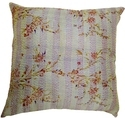 Indian Handmade Kantha Work Silk Cushion Covers