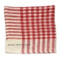 Printed Check Duster Cloth